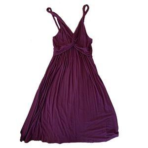 Delia's Twist Front Jersey Sundress